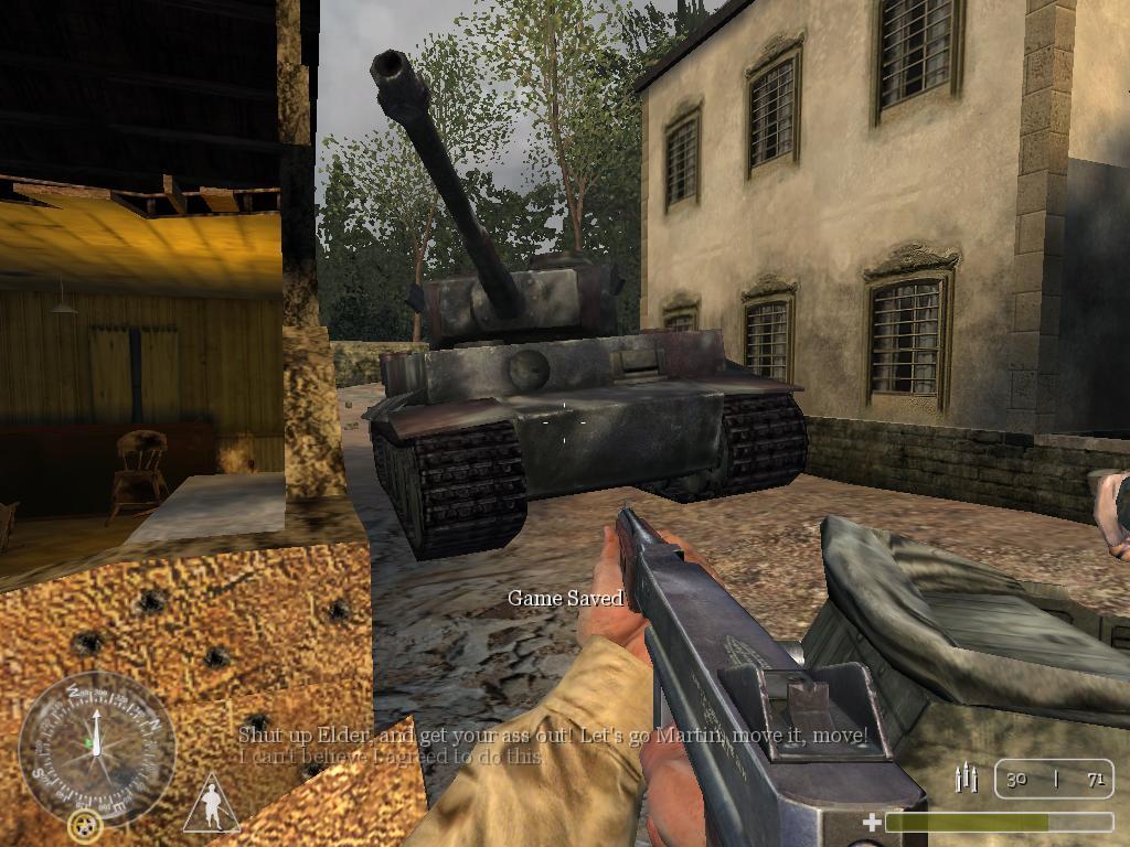 Игра Call of Duty 1