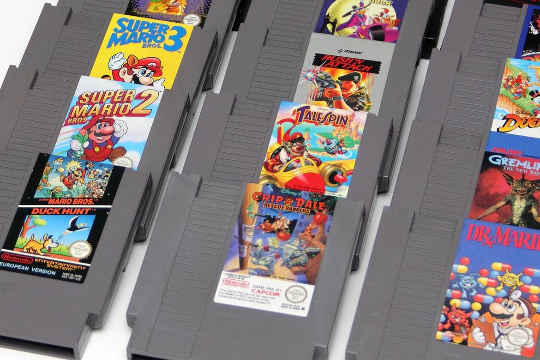 Картриджи для NES
