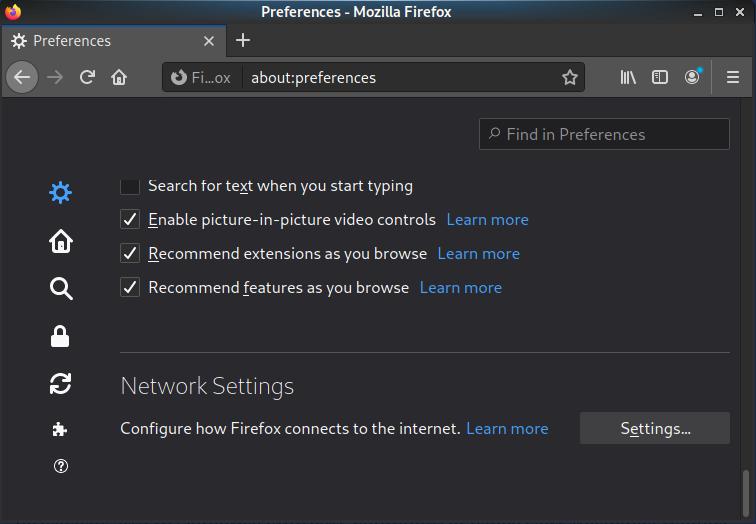 Открываем настройки и находим «Network Settings» / «Настройки Сети»