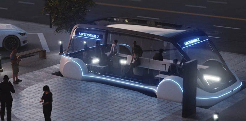 Boring Company создаёт новый проект Loop около Лос-Анджелеса