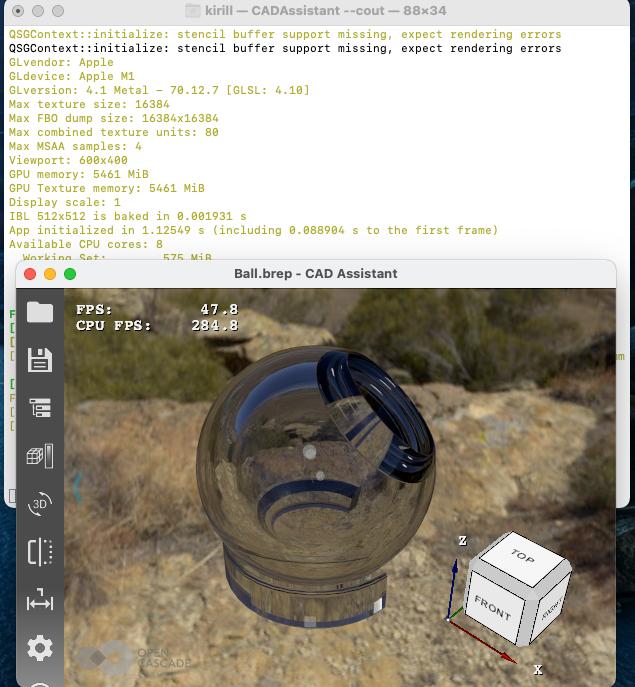OpenGL на AppleM1