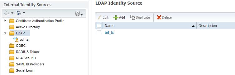 Рисунок 10. Перечень добавленных LDAP серверов