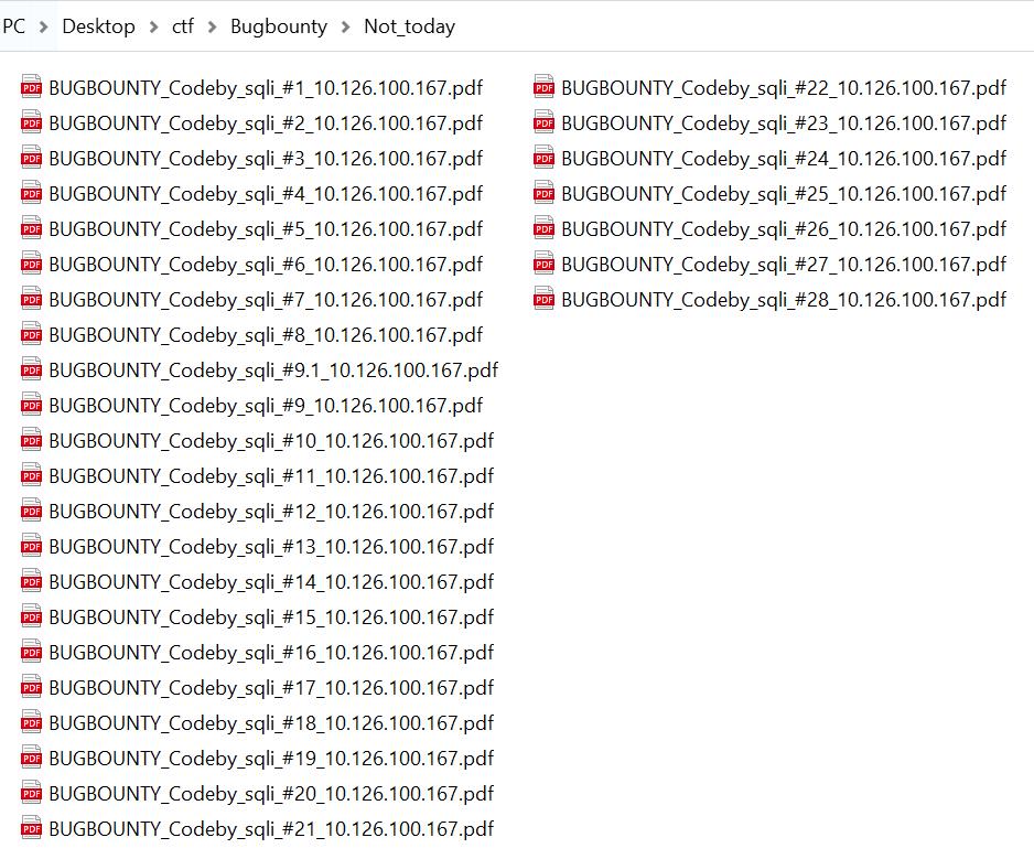 Отчеты для BugBounty по хосту OCR
