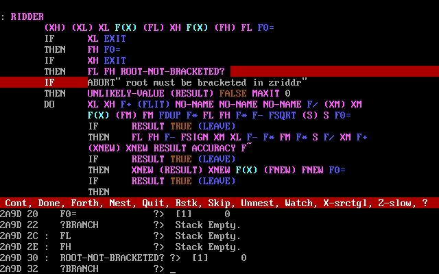Пошаговый отладчик кода.