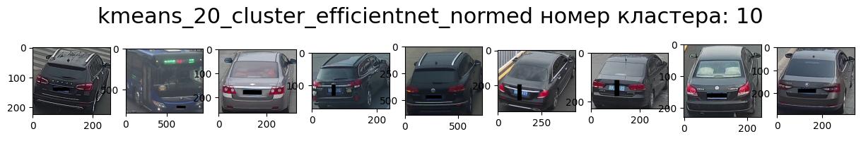 Кластер 10 т.-серый, зад, вправо, седан.