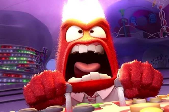 """Скриншот из мультфильма """"Головоломка"""", Walt Disney Pictures Pixar Animation Studios. 2015 г."""