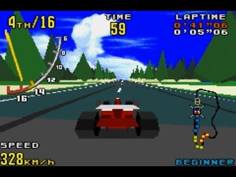 Virtua Racing (Sega Genesis/Megadrive)