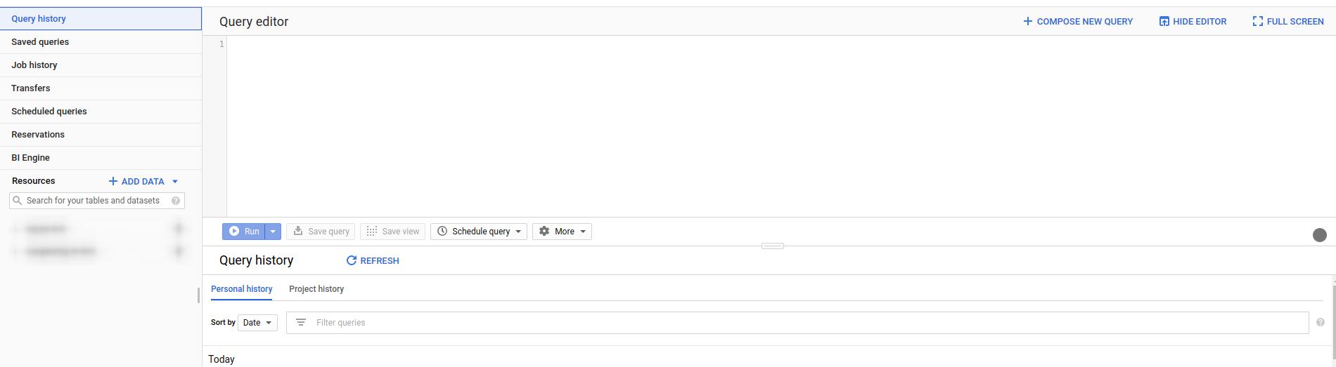 Работа с Google BigQuery. Считаем деньги