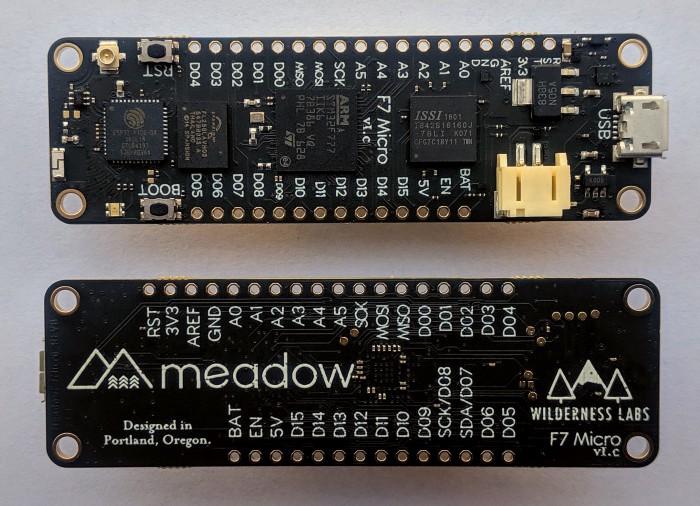 Meadow F7 Development Kit. Источник: здесь.
