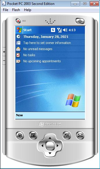 Эмулятор с WM2003