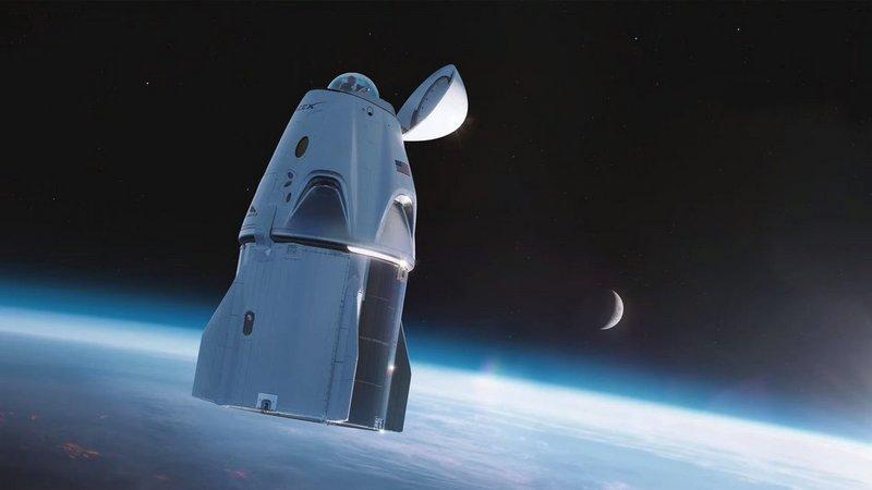Стыковочный отсек Crew Dragon в гражданской миссии заменит прозрачный купол