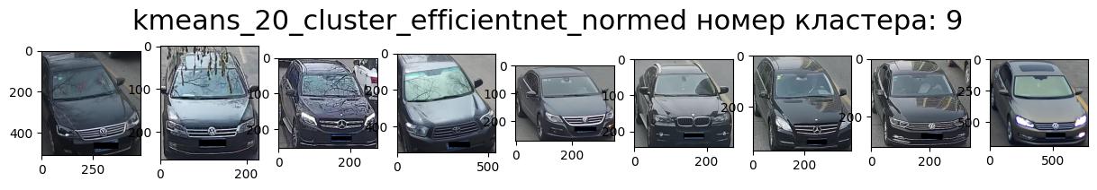 Кластер 9 т.-серый, перед, вправо, седан.