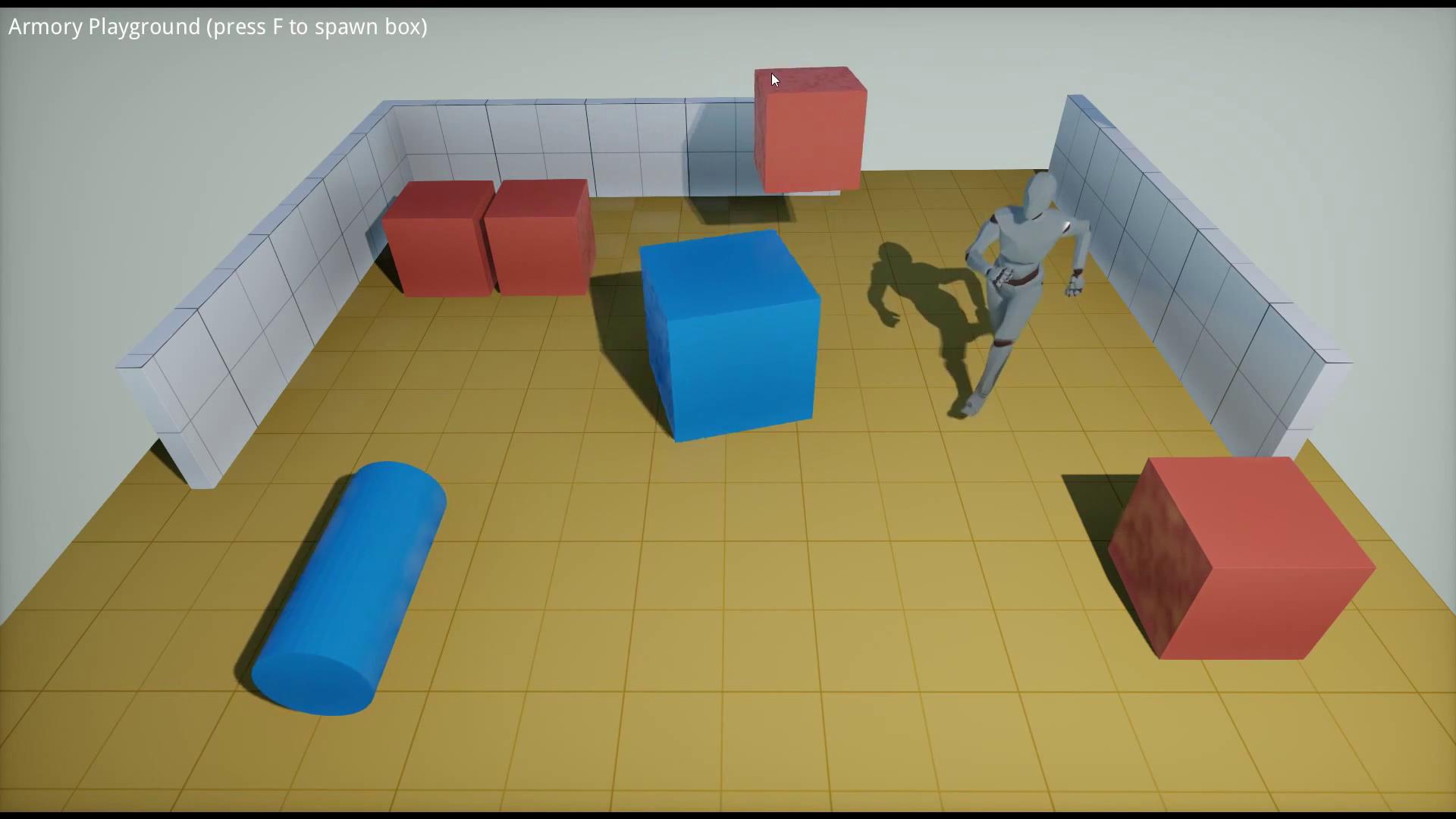 Создание уровня в Armory