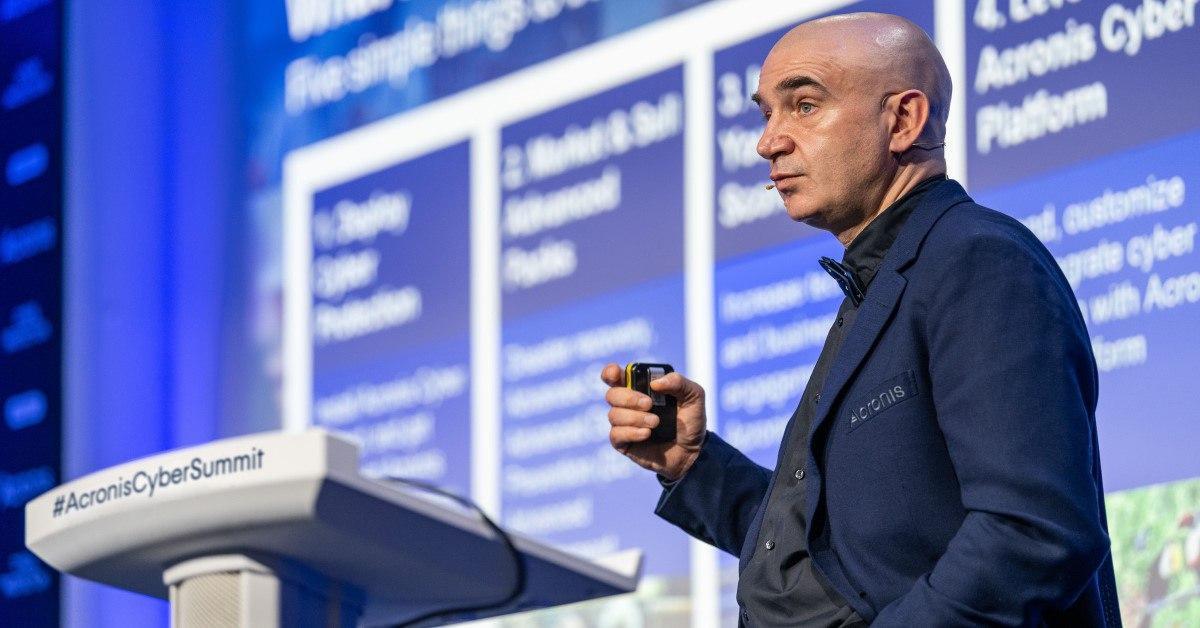 Итоги крупнейшего ИТ-ивента Acronis по киберзащите  AcronisCyberSummit 2020