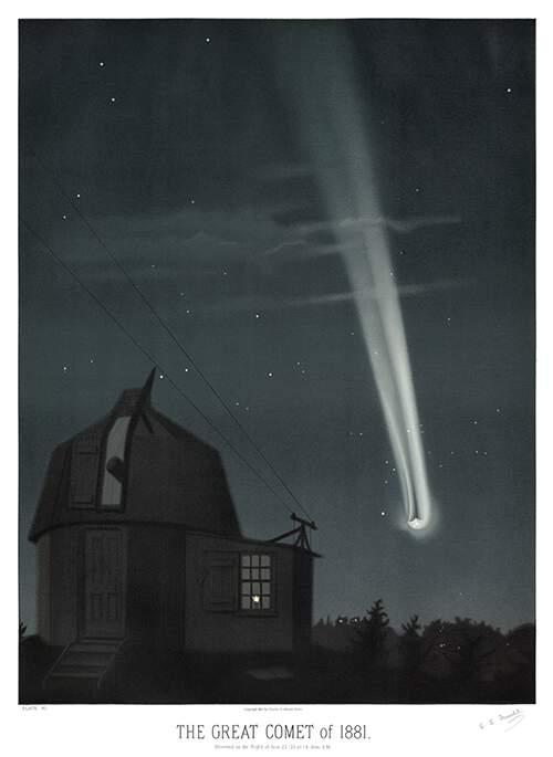 Автор Этьен Трувело, книга The Trouvelot astronomical drawings: atlas, год публикации 1881-1882