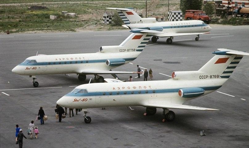 Скромные и компактные реактивные авиалайнеры Як-40