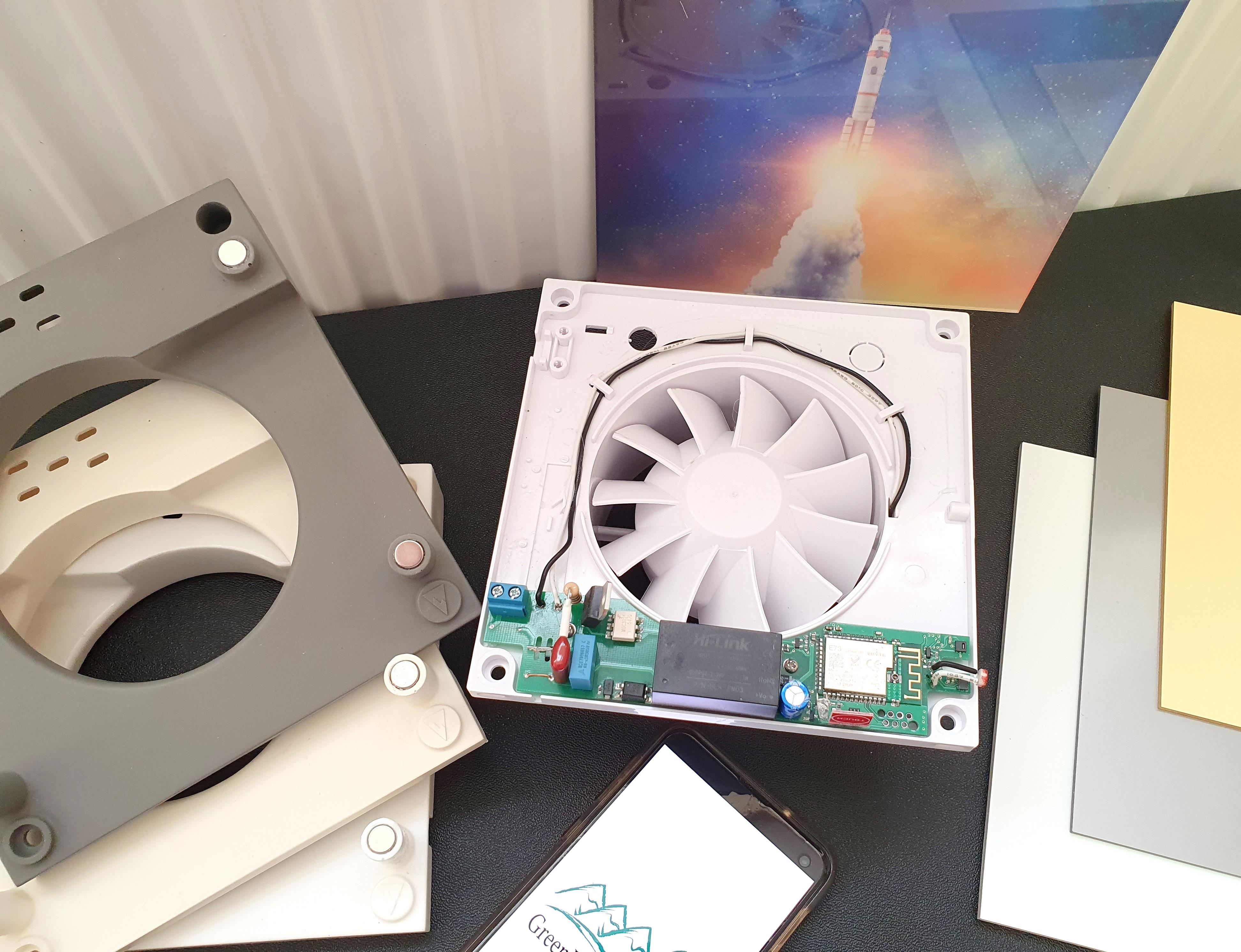Зачем все ставят вентиляторы в туалет или как мы решили сделать умный вентилятор, история по DIY
