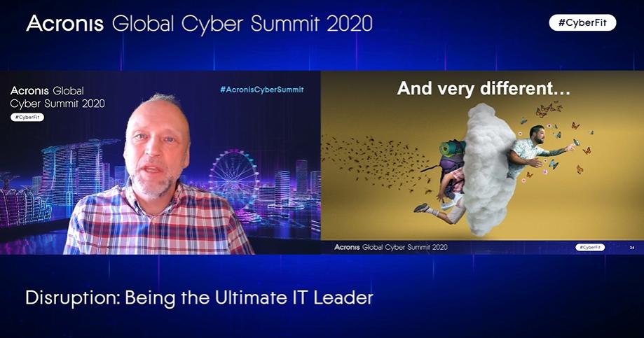 #AcronisCyberSummit keynotes