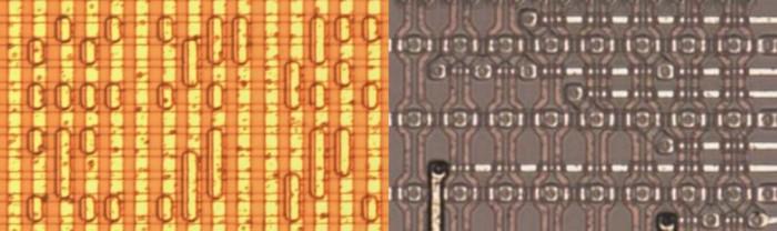 ПЗУ TI TMS5200NL в сравнении с ПЗУ CBM 65CE02 от SiliconPr0n