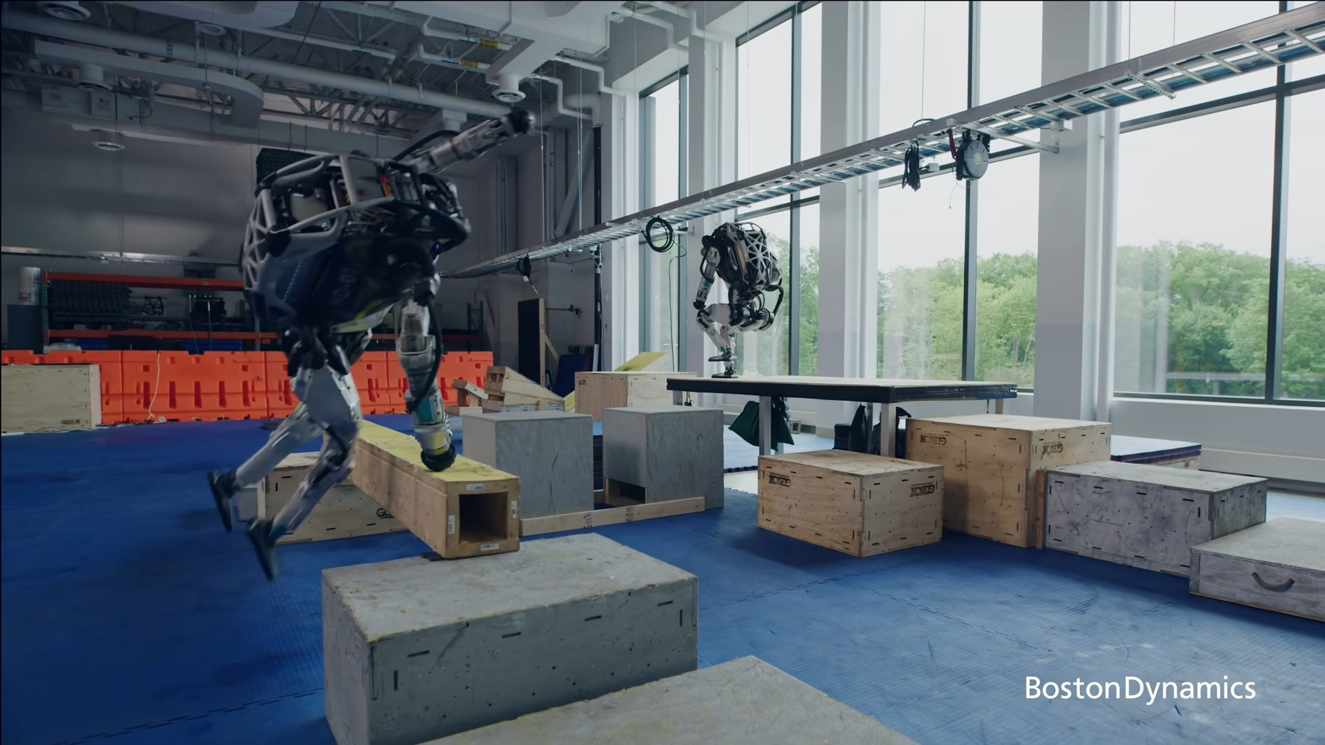 Инженеры Boston Dynamics продемонстрировали новые способности робота-гуманоида Atlas / Блог компании Madrobots / Хабр