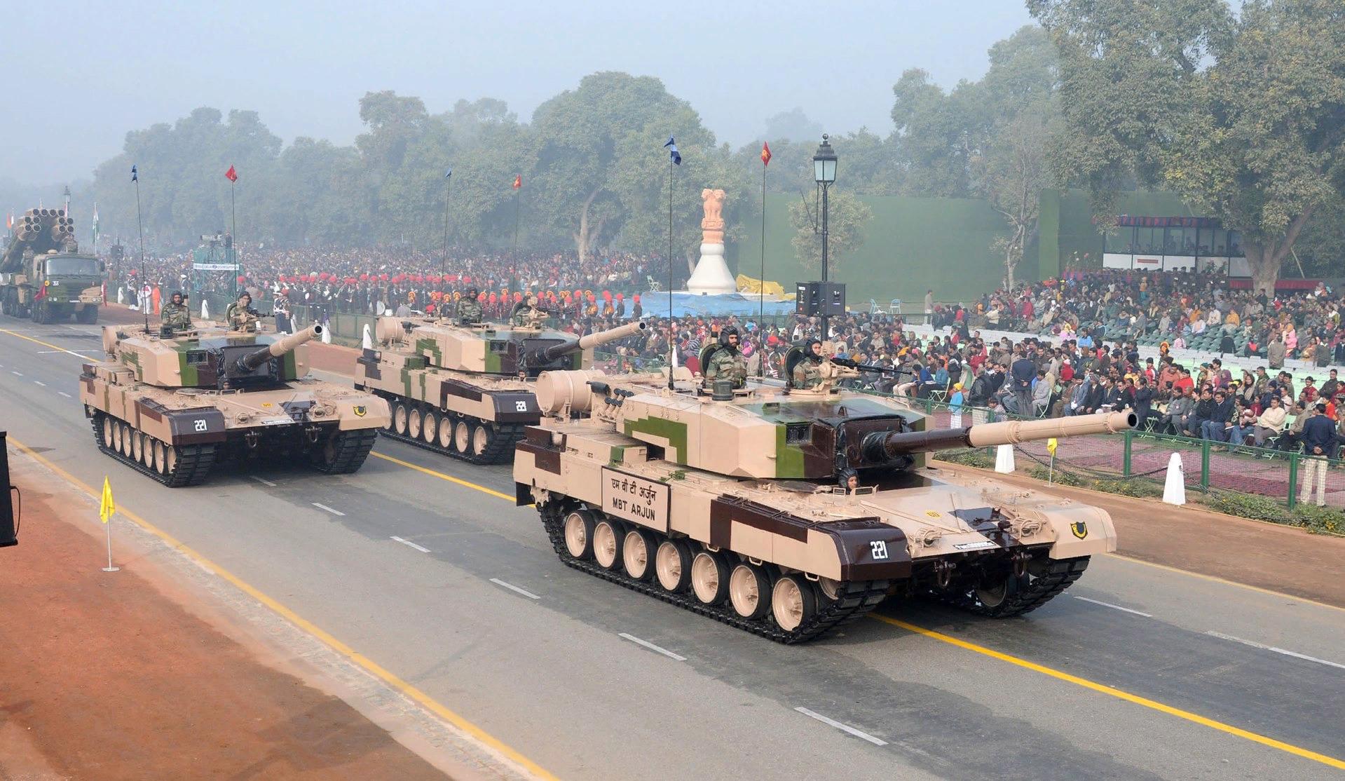 Танковая «Санта-Барбара». Arjun