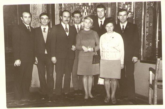 НПО «Аврора», 1972 год. Анатолий Шалыто третий справа