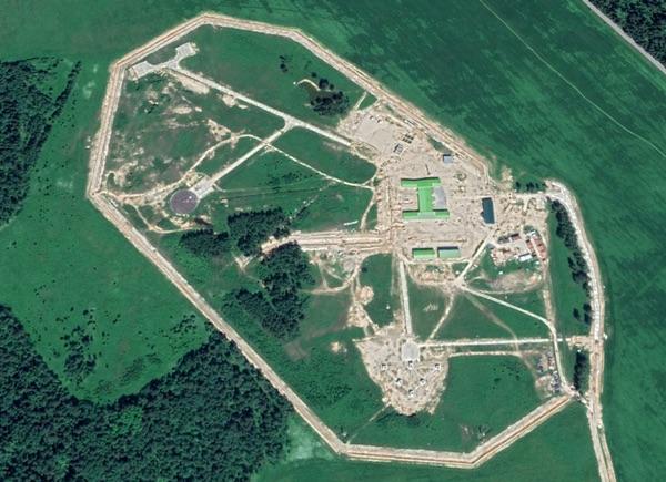 Участок 1511/1 Следопыт, расположенный примерно в двух километрах к югу от Ногинска-9, виден на этом снимке Google Earth, сделанном 14 июня 2020 года.