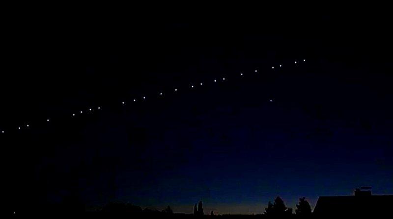 Созвездие спутников Starlink