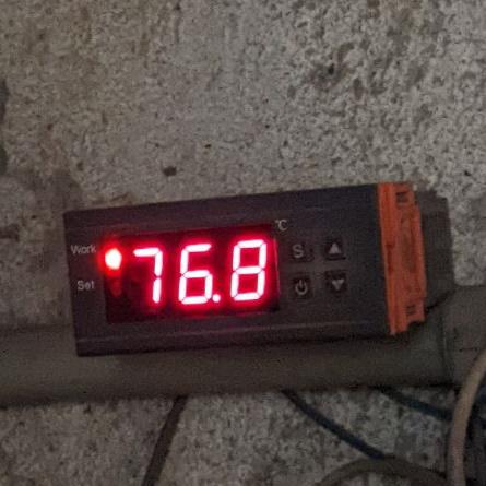 Типичная температура воды в системе