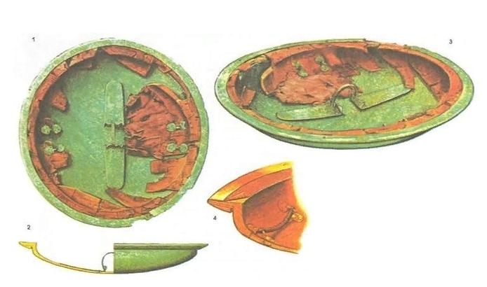 Конструкция щита асписа