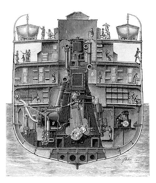 Автор Victor Rose, книга Les merveilles de la science, приложение 1, год публикации 1887
