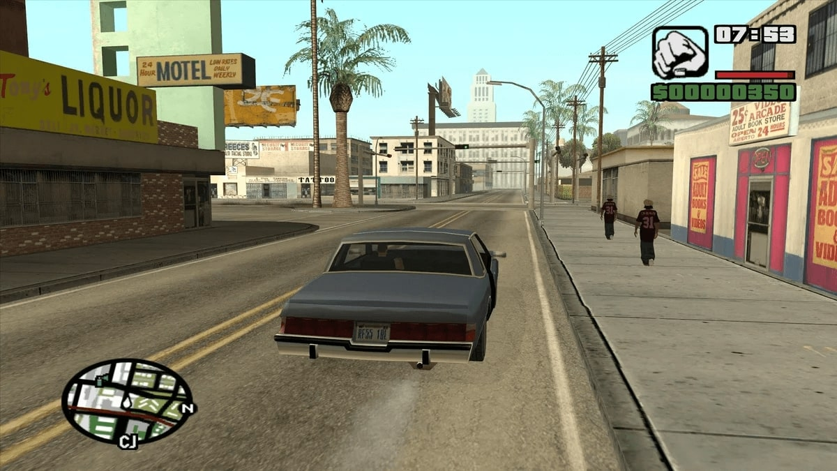 In addition to completing the main missions in Grand Theft Auto: San Andreas, the player has many side activities available: you can drive around the city and listen to music, meet friends, take photos, go on dates