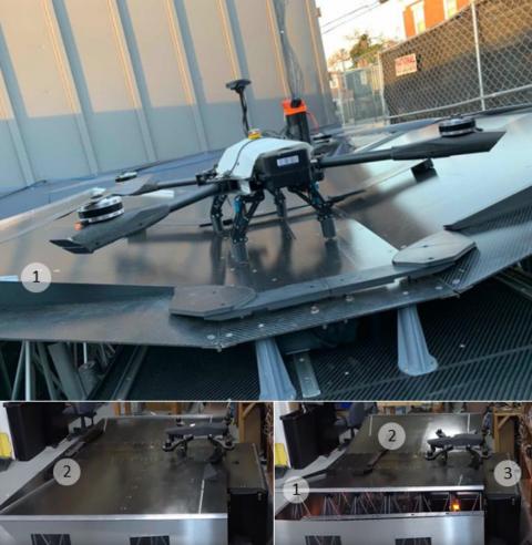 Платформа DroneCore фирмы Asylon, гибрид пассивного и активного позиционирования