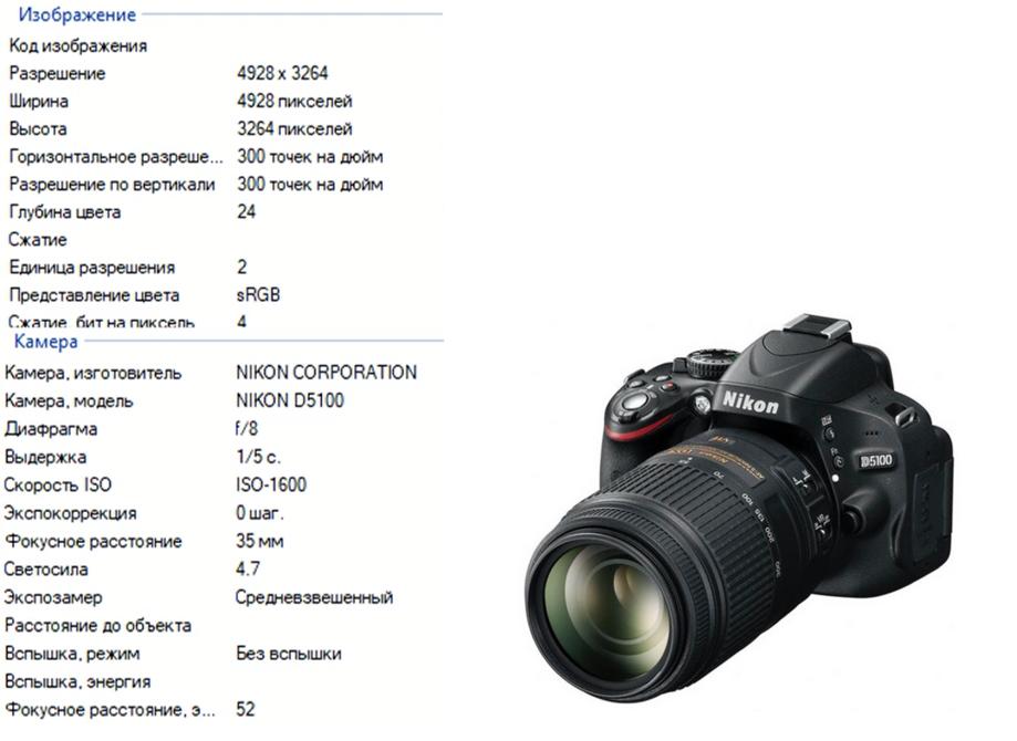 Зеркальная фотокамера NIKON D5100