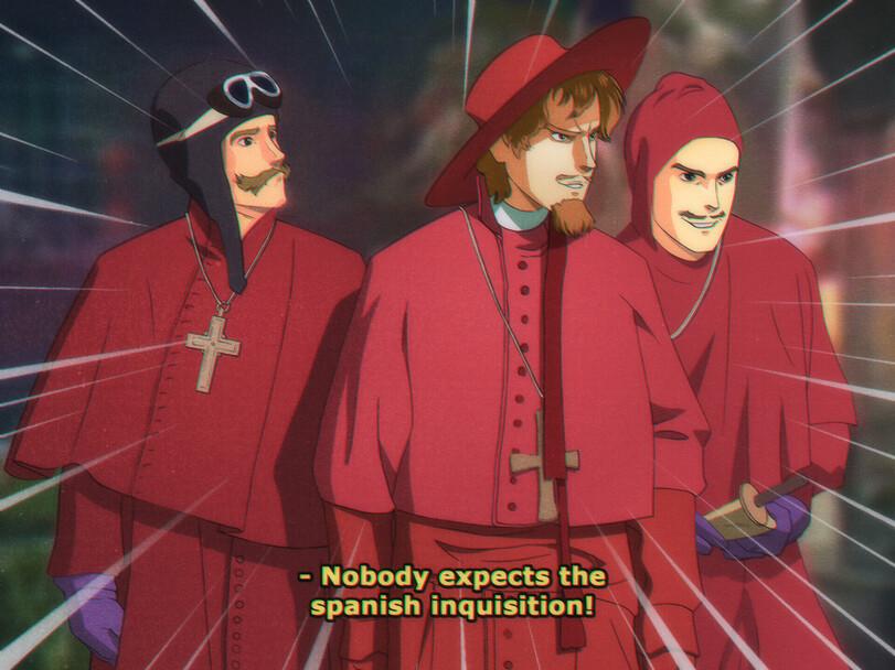 Да-да, прямо как Испанская Инквизиция!