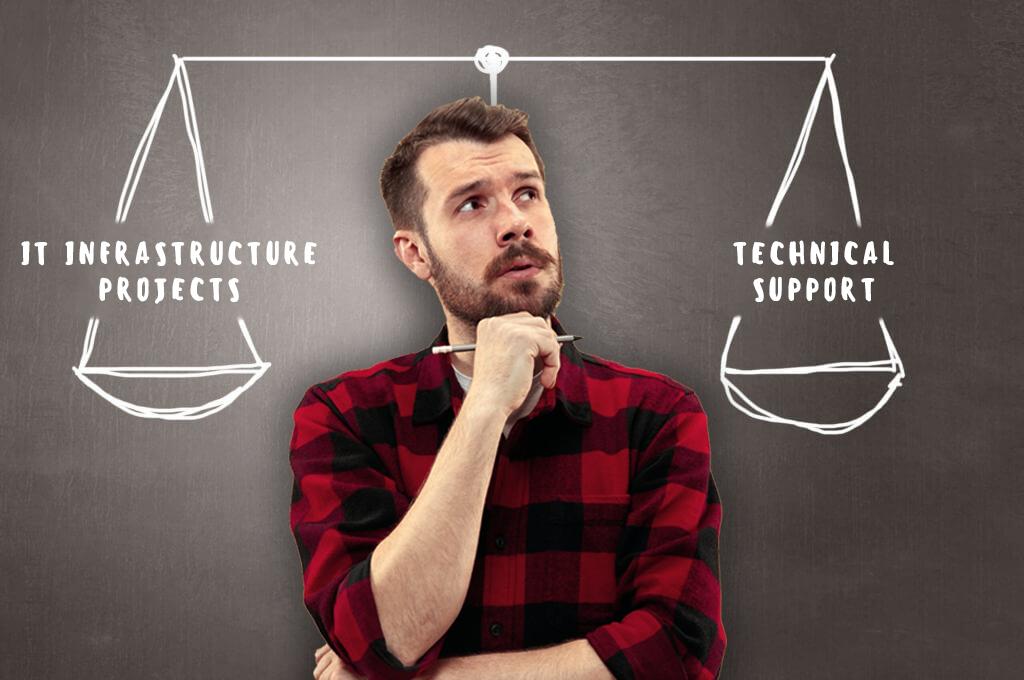 5 причин не уходить из техподдержки во внедрение