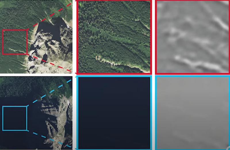 Автономная навигация с улучшенным визуальным распознаванием местности