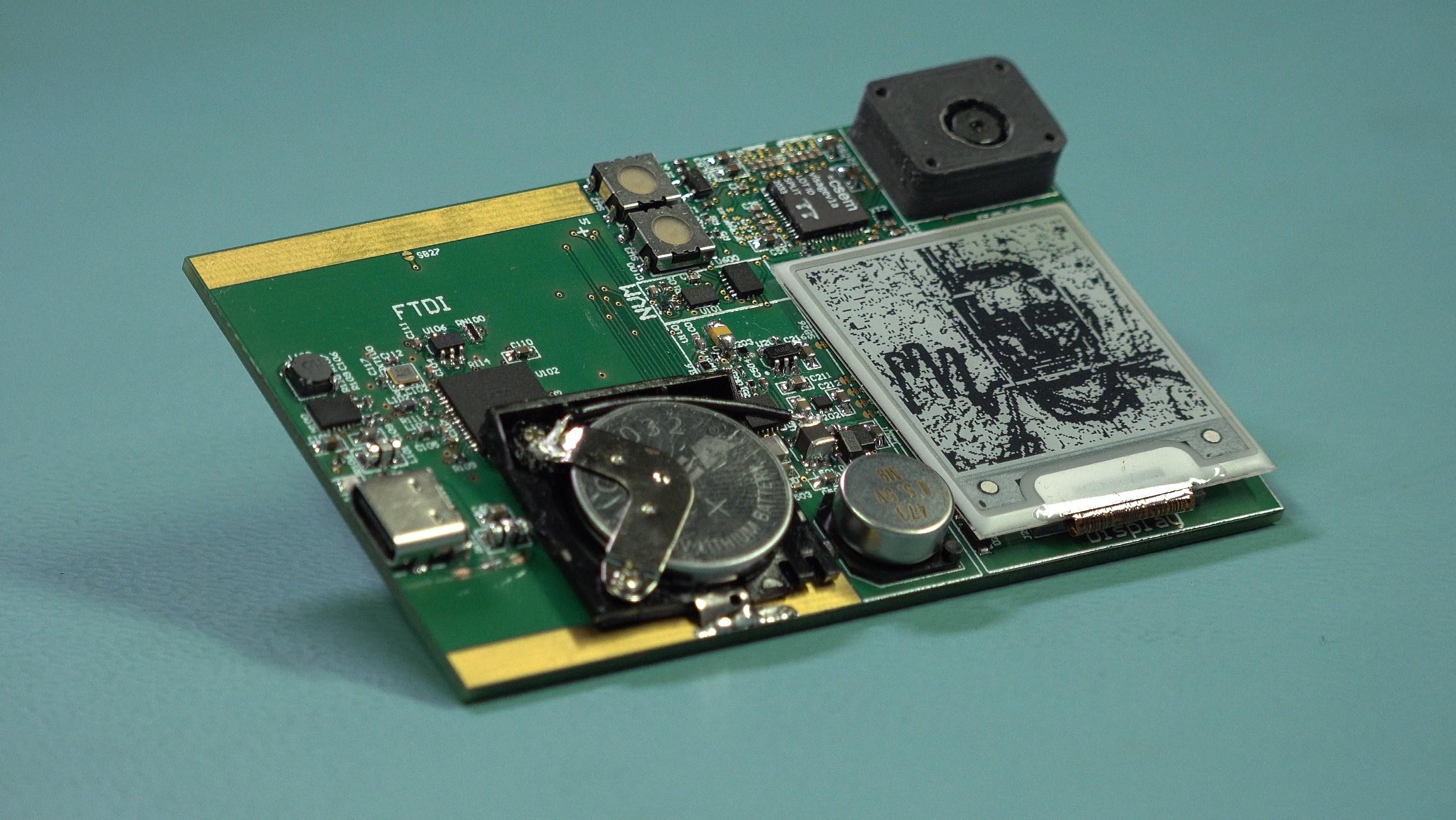 Пример микросхемы, работающей на батарейке. Источник: csem.ch