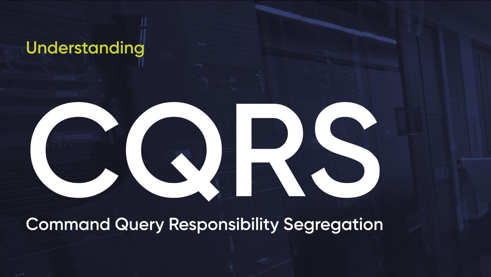 Паттерн CQRS теория и практика в рамках ASP.Net Core 5