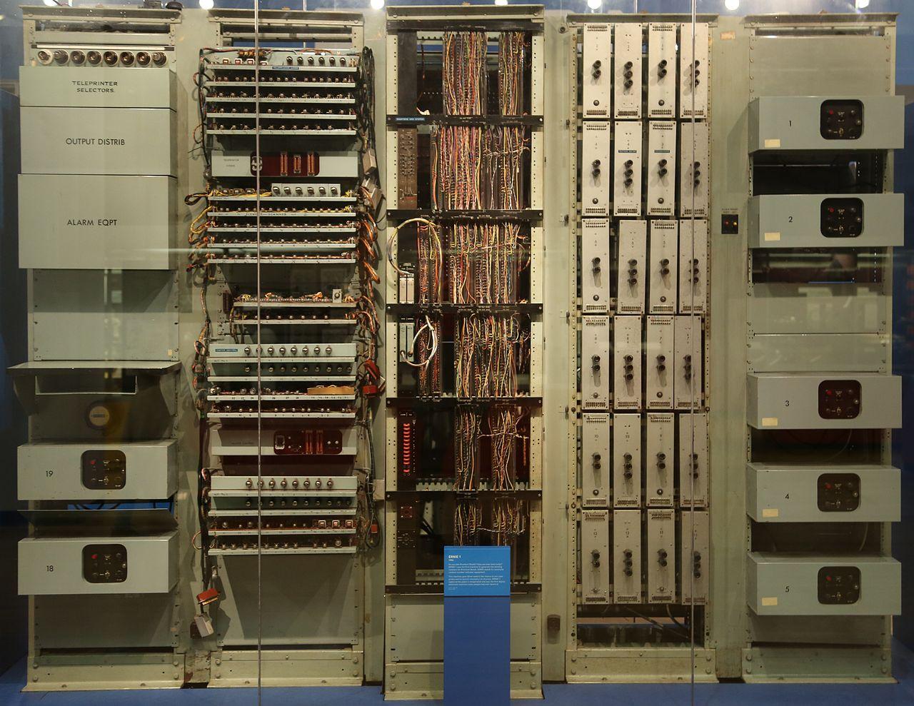 ERNIE 1 — аппаратный генератор случайных чисел, созданный в 1957 году