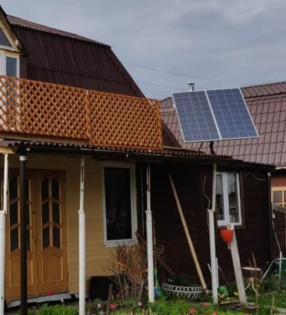 Солнечная электроустановка в Московской области собственный опыт