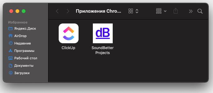 Фавиконка при установке веб-приложения