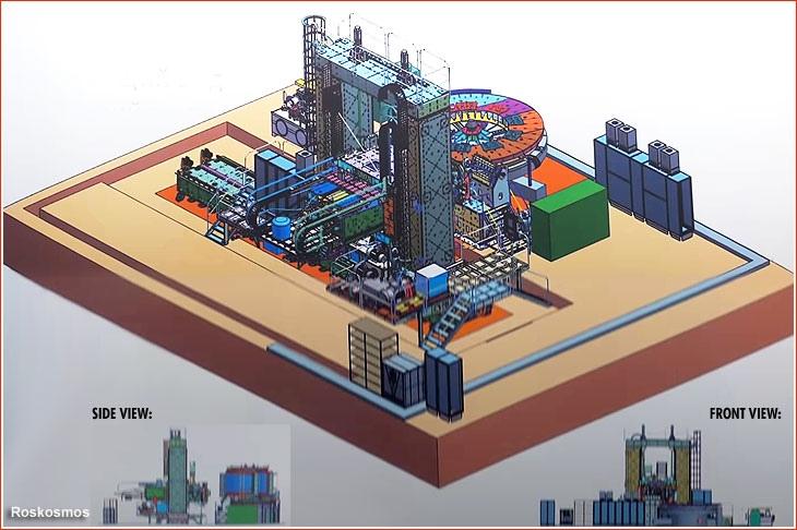 Комплекс сварки трением для изготовления топливных баков для ракеты-носителя