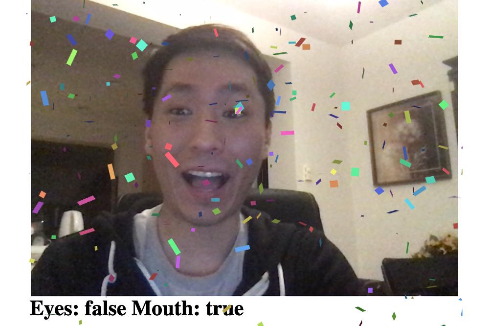 Активация экранной магии вашим лицом в браузере
