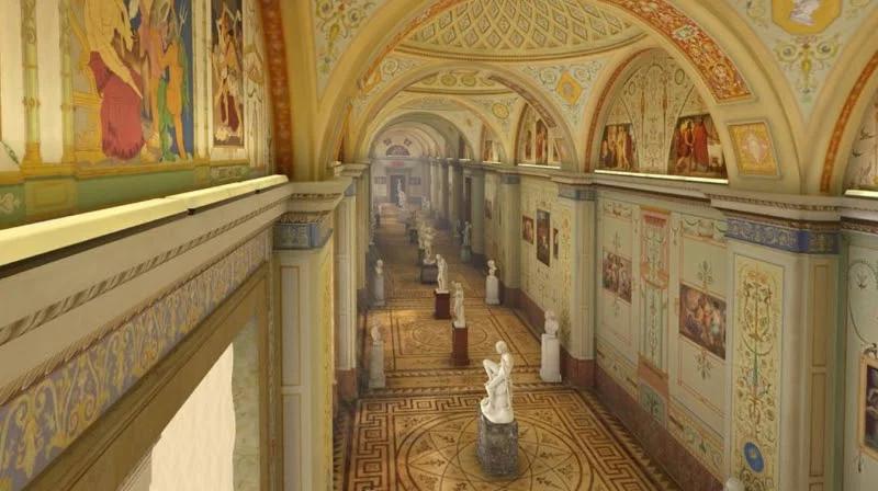 Год назад мне посчастливилось принять участие в совместном проекте Эрмитажа и компании КРОК по воссозданию виртуальной копии нескольких залов музея Эрмитаж