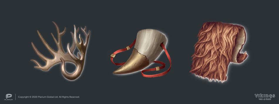 Иконки из Vikings: War of Clans