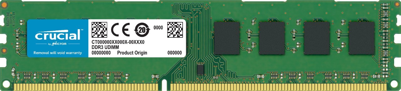 Одинарный модуль DIMM DDR3 SDRAM