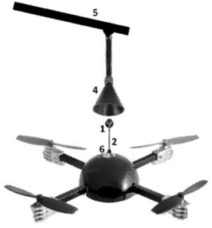 Система посадки ООО «СЪЕМКА С ВОЗДУХА» с перевернутым контуром и фиксацией сверху