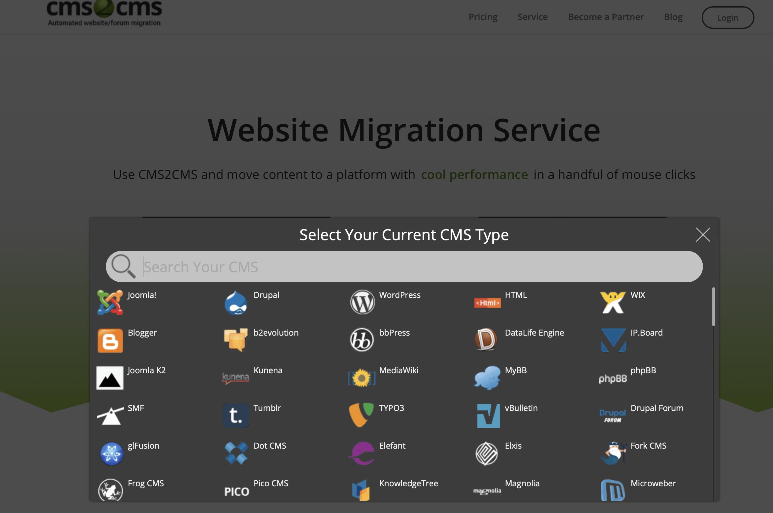 CMS2CMS - сайт для миграции форумов. Но дорогой :)